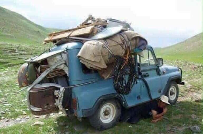 Зөвхөн Монголд л харж болох хөгжилтэй дүр зургууд Arslan.mn