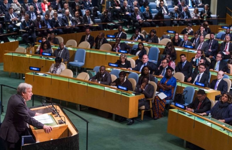АНУ Пхеньяны НҮБ-д үг хэлэх эрхийг хасахыг уриаллаа