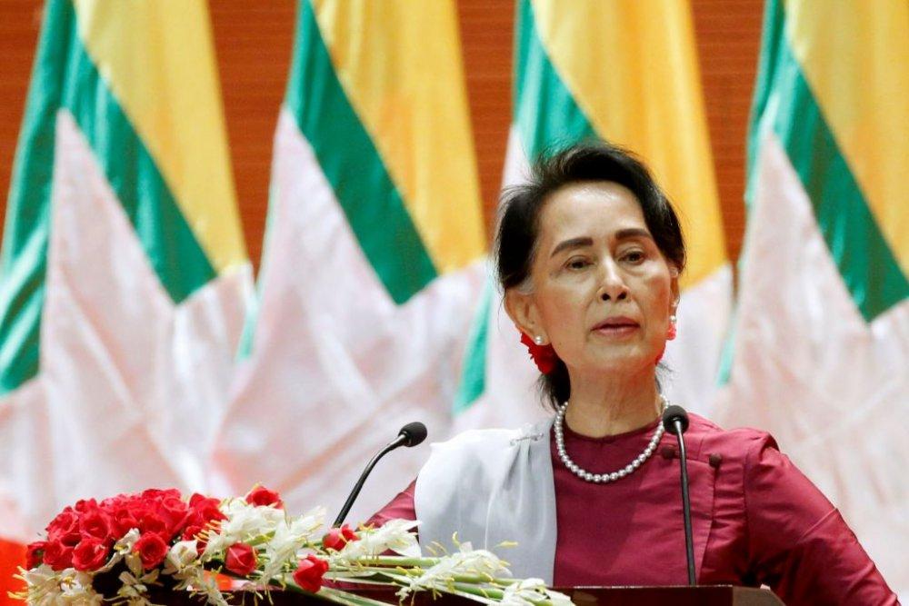 """Аун Сан Су Чид олгосон """"Оксфорд хотын хүндэт иргэн"""" шагналыг  хураажээ"""